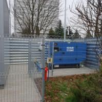 agregat prądotwórczy niebieski