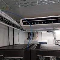 Serwerownie mobilne urządzenie kable