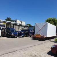 Serwerownie mobilne, transport tirem