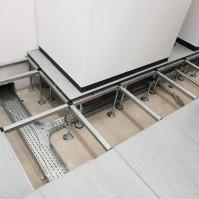 Podłoga techniczna, pręty blaty